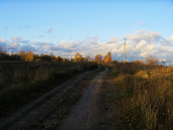 Дорожка от Осыно до деревни Дашково