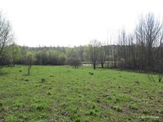 Вид на юго-восток с вершины участка